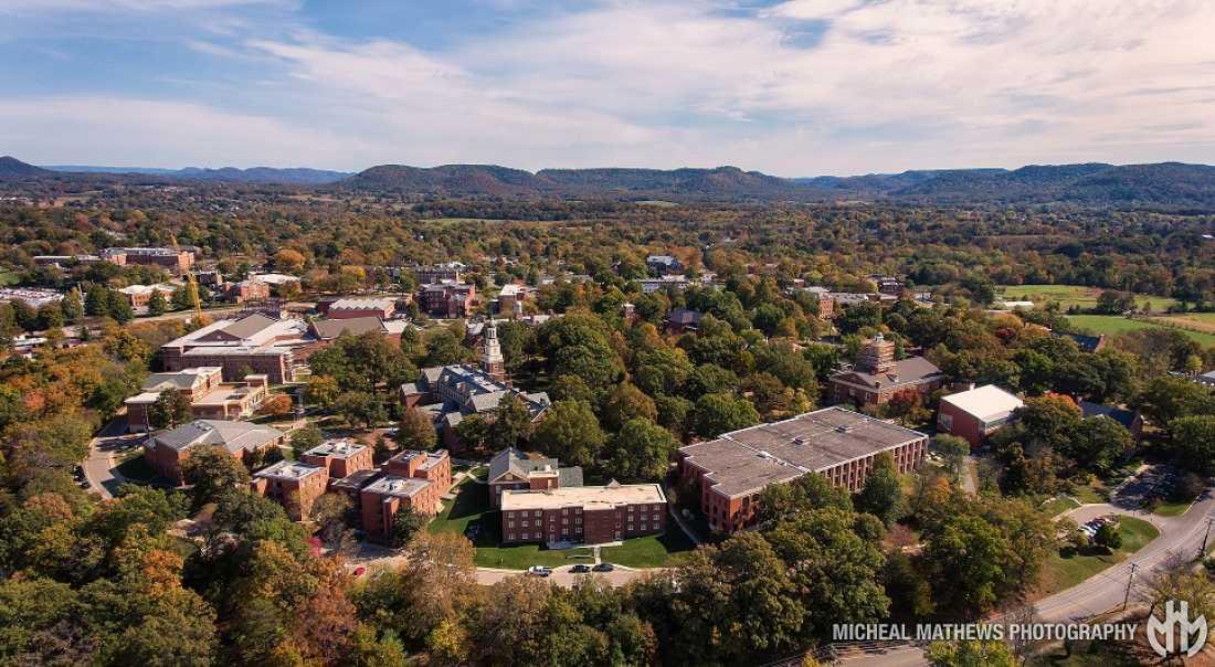 Berea College Aerial