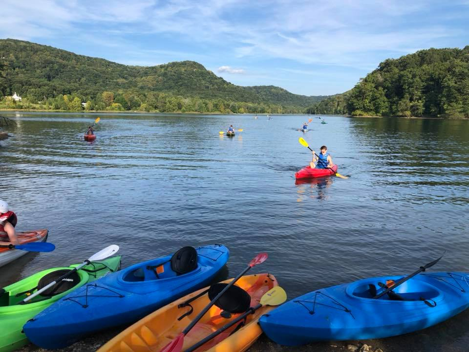 Owsley Fork kayaking - Berea, KY