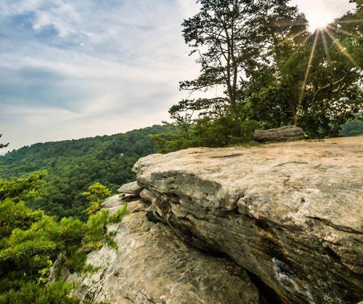Explore Berea KY - Hike The Pinnacles